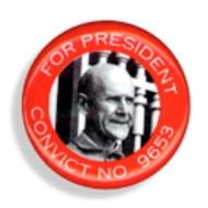 Debs Campaign Button